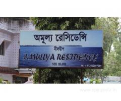 Get Amulya Residency in,Neil Island with Class Accommodation.