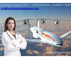 On-call Assistance in Vedanta Air Ambulance from Raigarh