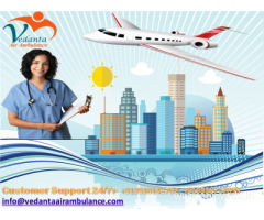 Bed to Bed Patient Transfer- Vedanta Air Ambulance in Hyderabad