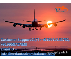Now Get Fastest Vedanta Air Ambulance in Jammu at Pocket Friendly Cost