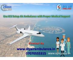 Receive Charter Air Ambulance Service in Amritsar at reasonable price