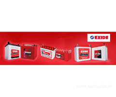Exide | Buy Car and Inverter Batteries  at MeraBattery.com