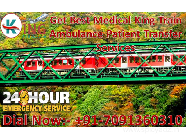 Get Best and Reliable Train Ambulance in Chennai for Emergency Services - 1