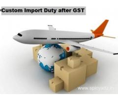 Here is present your product's Custom Import Duty after GST!
