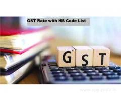 Grow Your Business by Updated GST Rate with HS Code List