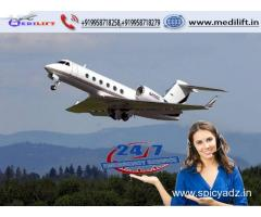 Hire Top-Level Air Ambulance Service in Bhopal with ICU Facility
