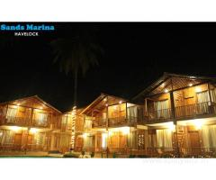Get Aparupa Sands Marina Resort in,Havelock Island with Class Accommodation.