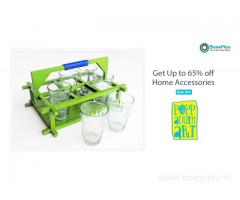 Get up to 65% off home accessiores