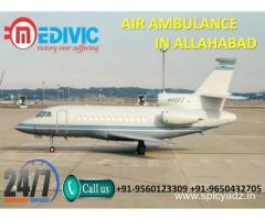 Choose Top Level ICU Life Care Air Ambulance from Allahabad by Medivic