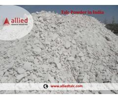 Supplier of Talc Powder in India Manufacturer Exporter Allied Mineral Industries Udaipur Rajasthan
