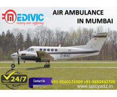 Take the Benefit of Hi-fi ICU Care Air Ambulance from Mumbai by Medivic