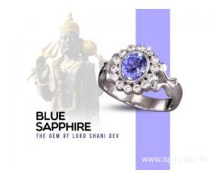 Blue Sapphire Stone as per Astrology