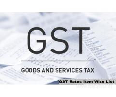 Do you want to Obtain Updated GST Rates Item Wise List?