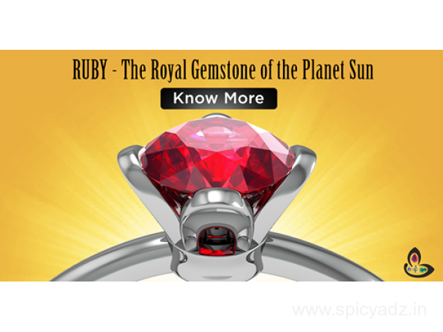 Ruby Gemstone | Manik Stone | Ruby Stone Benefits