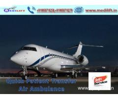 Get Unmatchable Medilift Air Ambulance Service in Ranchi at Low-Cost