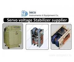Servo voltage Stabilizer manufacturer, suppliers India