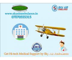 Take Extremely Safe Patient shifting in Pune by Sky Air Ambulance