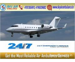 Pick Air Ambulance in Varanasi with Top-Class Medical Features