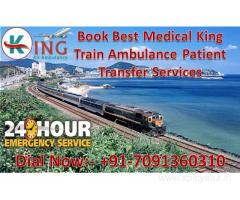 Get Quick and Reliable King Train Ambulance Services in Patna with ICU Facility