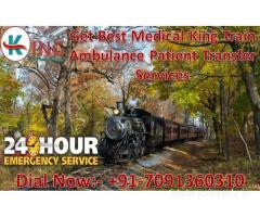 Get an Affordable Cost Train Ambulance Services in Guwahati by King Ambulance