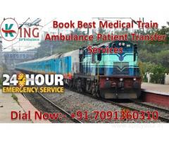 Get an Advanced and Prominent Train Ambulance Services in Mumbai by King Ambulance