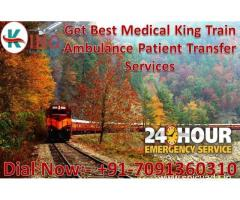 Get Best and Minimum Cost Train Ambulance Services in Chennai by King Ambulance