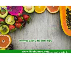 Homeopathy Health Tips