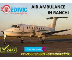 Use Magnificent Life Saver Medical Care Air Ambulance in Ranchi by Medivic