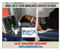 Get Amazing Angel Air and Train Ambulance in Bagdogra for Best Emergency Services