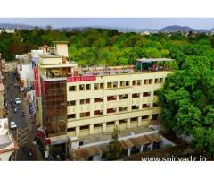 Get Hotel Krishnalila Regency in,Udaipur with Class Accommodation.