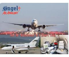 Get Angel Air and Train Ambulance in Bhagalpur for Affordable Cost and Emergency Services