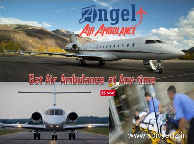 Get Reliable Angel Air and Train Ambulance in Bokaro with Best Medical Team