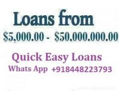 Business and Project Loans/Financing Available!!
