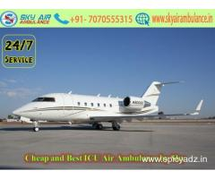 Pick Royal ICU Setup Air Ambulance Service in Indore
