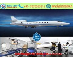 Receive illustrious CCU Air Ambulance Service in Jabalpur