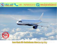 Get India's famed ICU Air Ambulance Service in Bagdogra