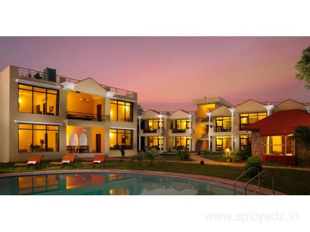 Get Sariska Tiger Heaven - A Sterling Resort in,Alwar with Class Accommodation.