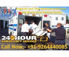 Get Best and Fastest Angel Air and Train Ambulance in Darbhanga at Low-Cost