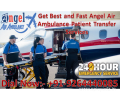 Get Best and Safe ICU Air and Train Ambulance in Dibrugarh – Angel Air Ambulance