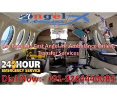 Get Benefits of Angel Air and Train Ambulance in Gaya at Best and Low-Cost