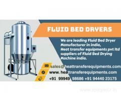 Fluid Bed Dryer - Heat transfer Equipments