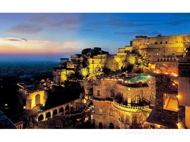 Get Neemrana Fort-Palace in,Alwar with Class Accommodation.