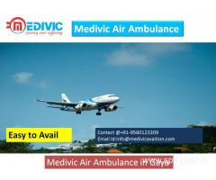 Affordable Cost  Air Ambulance Service in Gaya by Medivic Aviation