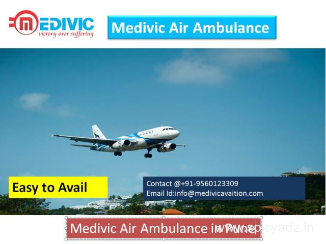 Best Air Ambulance Service in Pune by Medivic Aviation