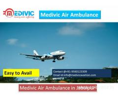 Get Low Cost Air Ambulance Service in Jabalpur by Medivic Aviation
