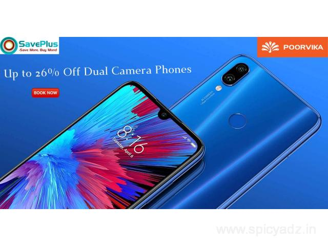 Up to 26% Off Dual Camera Phones