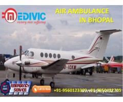 Get the Fastest Medical Transport Air Ambulance in Bhopal by Medivic