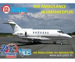 Select ICU Emergency Life Support Air Ambulance in Jamshedpur by Medivic