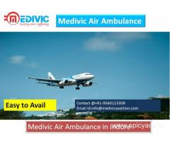 Affordable cost Air Ambulance Service in Indore-Medivic Aviation
