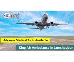 Cost of King Air Ambulance services in Jamshedpur